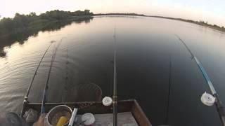 Рыбалка на карася поплавочной удочкой!