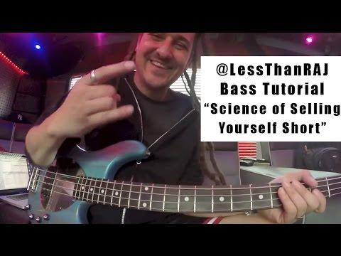 "Less Than Jake - Roger Lima - Bass Tutorial Vid 3 - ""The Science of Selling Yourself Short"""
