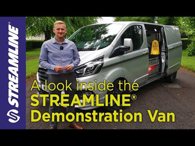 A look inside the STREAMLINE® window cleaning demonstration van