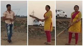 निरहुआ आम्रपाली खेलेंगे क्रिकेट |Video Nirahua And Amrapali Dubey Playing Cricket| Spicy Bhojpuri