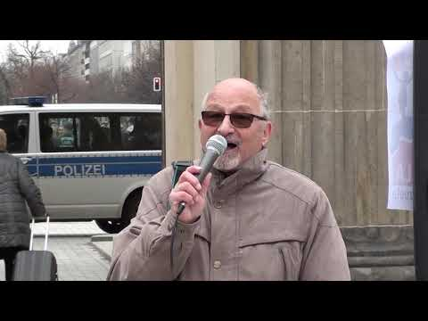 2.3.2019 #HandsOffVenezuela Kundgebung #Berlin, Brandenburger Tor #4