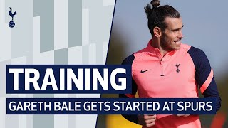TRAINING | GARETH BALE TRAINS AT HOTSPUR WAY