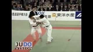 JUDO 2002 All Japan: Kosei Inoue 井上 康生 (JPN) – Tokumi Satuwatari (JPN)