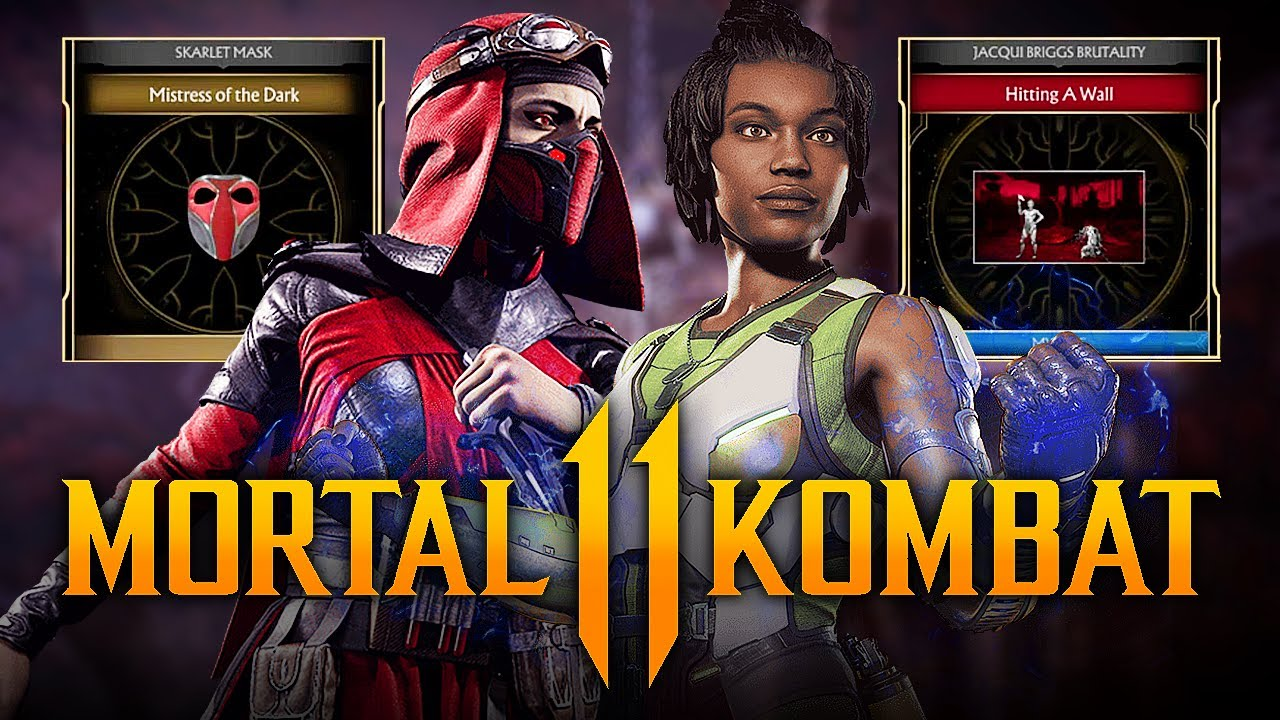 Mortal Kombat 11 - NEW Krypt Event for Skarlet & Jacqui Briggs w/ Rare Kombat League Gear & More!