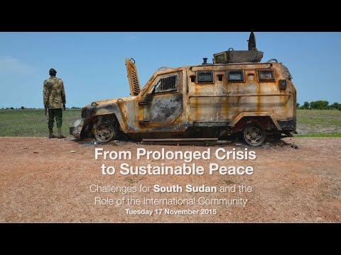 Challenges for South Sudan and the Role of International Community