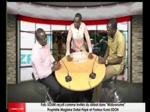 Magloire Pépé et Komi EDOH reçus comme invités du débat dans « Midzronume » par Fofo SINOU