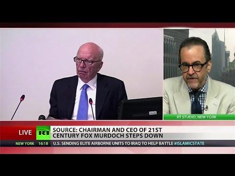 Farewell to Fox: Rupert Murdoch steps down as CEO