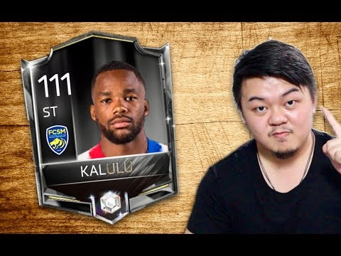 BEST ST IN THE GAME?!! KALULU UPGRADED TO 100 BASE CARD!! LEGEND STATS!! FIFA MOBILE S2