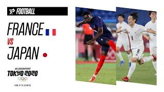 FRANCE VS JAPAN | Men's Football - Highlights
