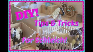 🐎Tips and Tricks For Your SCHLEICH HORSES AND STABLE!🐎FIRST DAY TV