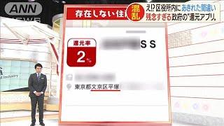 """1200億円計上も間違いだらけ・・・政府の""""還元アプリ""""(19/10/04)"""