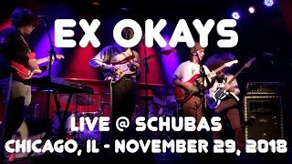 Ex Okays - Goonies live at Schubas in Chicago (11-29-2018)