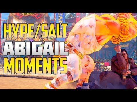 SFV S2.5 ▰ Crazy Abigail Moments【Perfects, Comebacks, Trolling + HUGE Damage】
