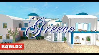 Roblox Bloxburg - Streets of Greece