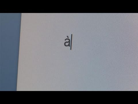 How To Type Letters With Accents