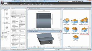 Cadclip - Revit 2011 Roof  Basics 07 Butterfly Roof