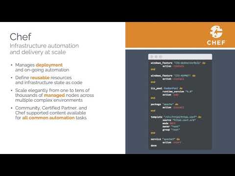 AWS' OpsWorks for Chef Automate by Matt Ray