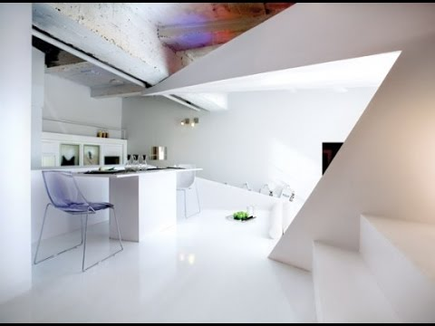 Small Apartment Futuristic Interior Design Ideas - YouTube