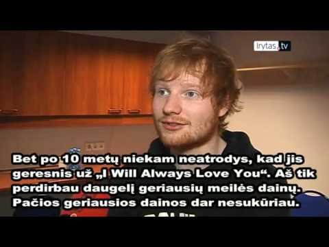 Ed Sheeran Interview 2015 (In LITHUANIA)
