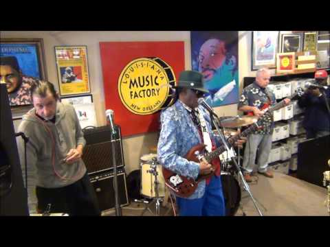 Little Freddie King @ Louisiana Music Factory 1st Anniversary on Frenchmen 2015