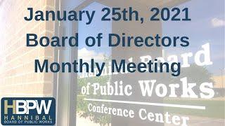 Hannibal Board of Public Works Live Stream