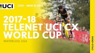2017 18 telenet uci cyclo cross world cup waterloo usa men elite