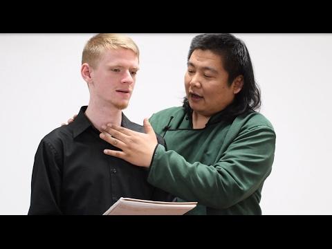 Inside UNCG:  Mongolian throat singing