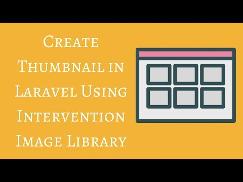 Create Thumbnail in Laravel Using Intervention Image Library