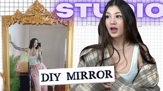 STUDIO: DIY Καθρέφτης vintage!