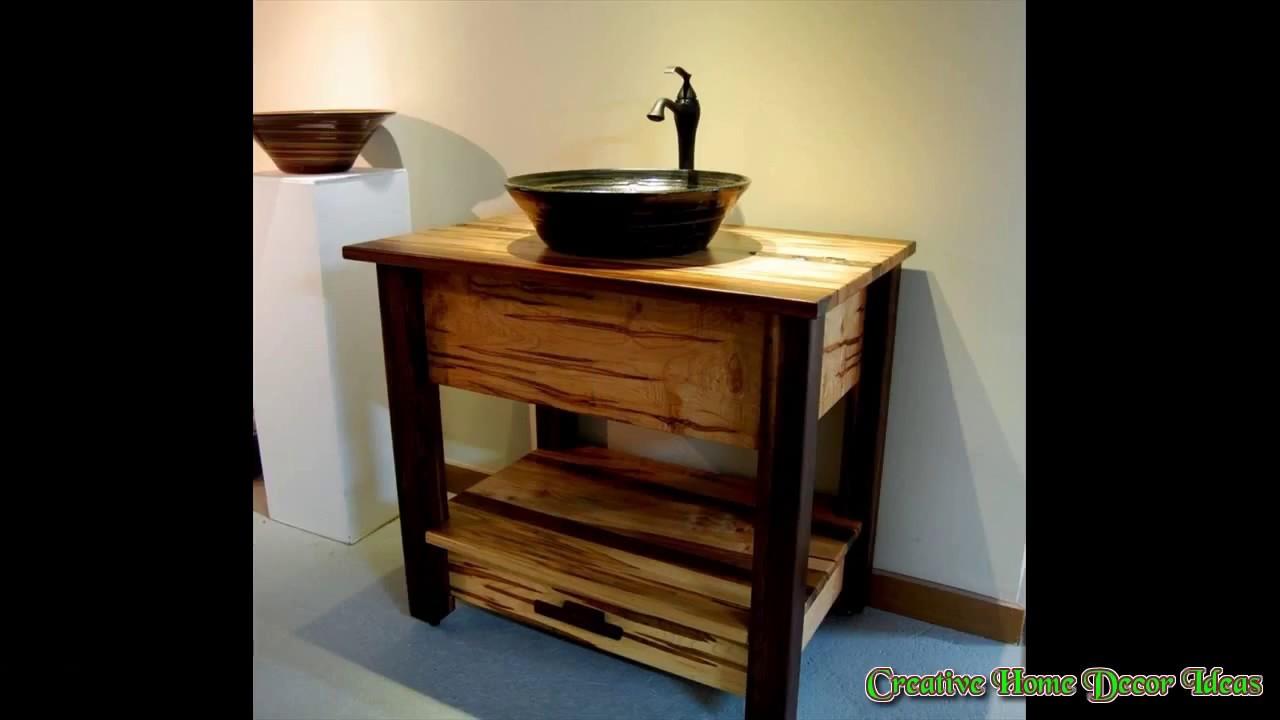 Rustic Bathroom Faucets Ideas