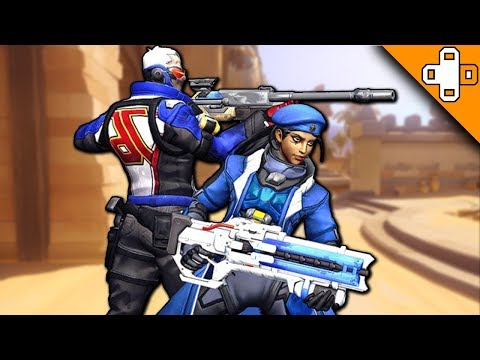 SOLDIER 76 X ANA CONFIRMED! Overwatch Funny & Epic Moments 574