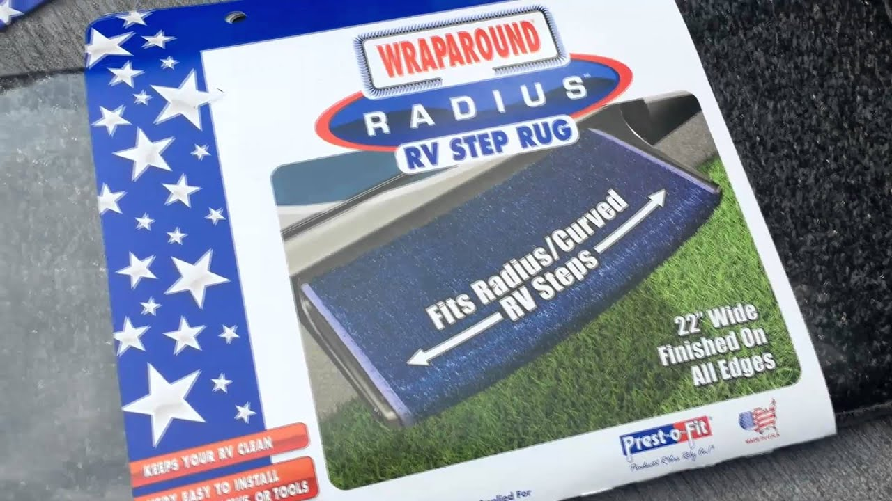 Product Review: Prest O Fit Radius RV Step Rug