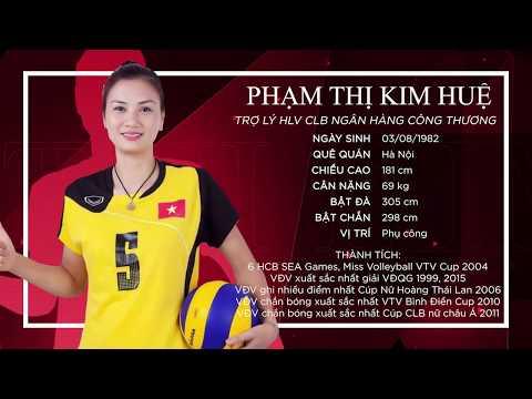 [Chân dung VĐV] Phạm Thị Kim Huệ: Huyền thoại bóng chuyền Việt Nam