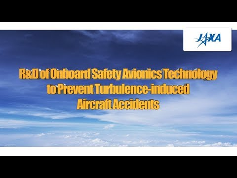 R&D of Onboard Safety Avionics Technology to Prevent Turbulence-induced Aircraft Accidents