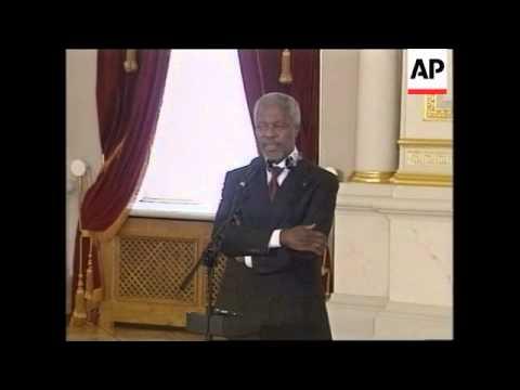 UN chief meets Ukraine president, bite on Kashmir