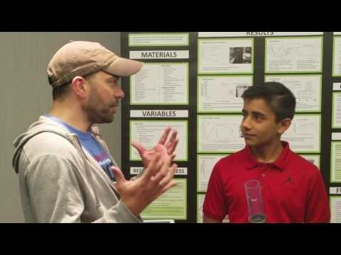 Amazing 15 Yr Old Invents Incredible Water Filtration System