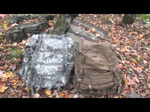 ACU MOLLE II And FILBE Rucksack - Comparison - The Outdoor Gear Review