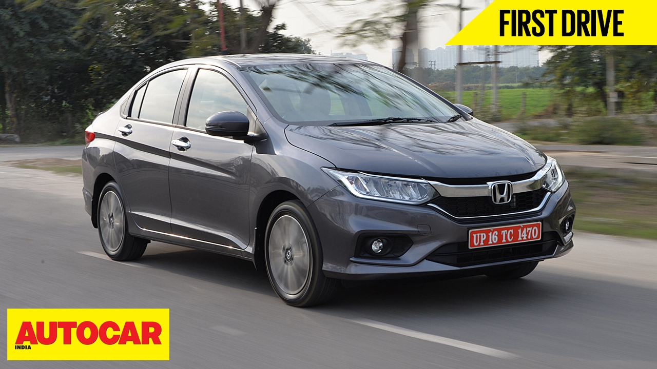 2017 Honda City First Drive Autocar India Youtube