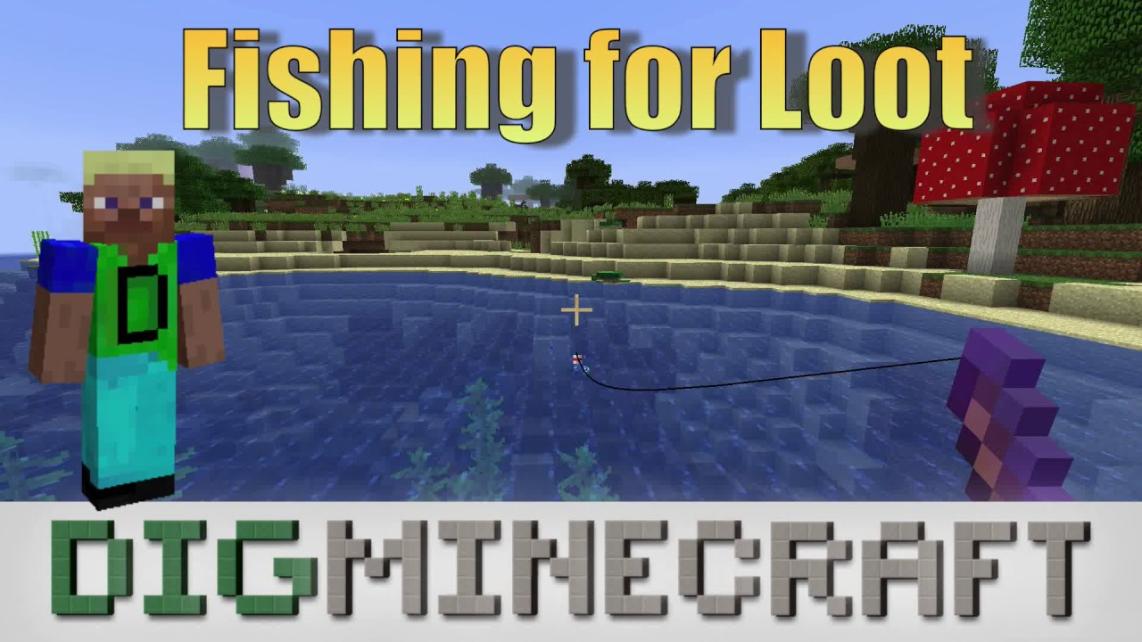 How to Fish in Minecraft