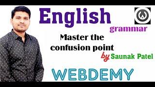 English Grammar | Master the Confusion point - 1 by Saunak Patel screenshot 2