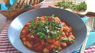 Греческий суп фасолада