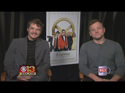 Coffee With: Taron Egerton and Pedro Pascal