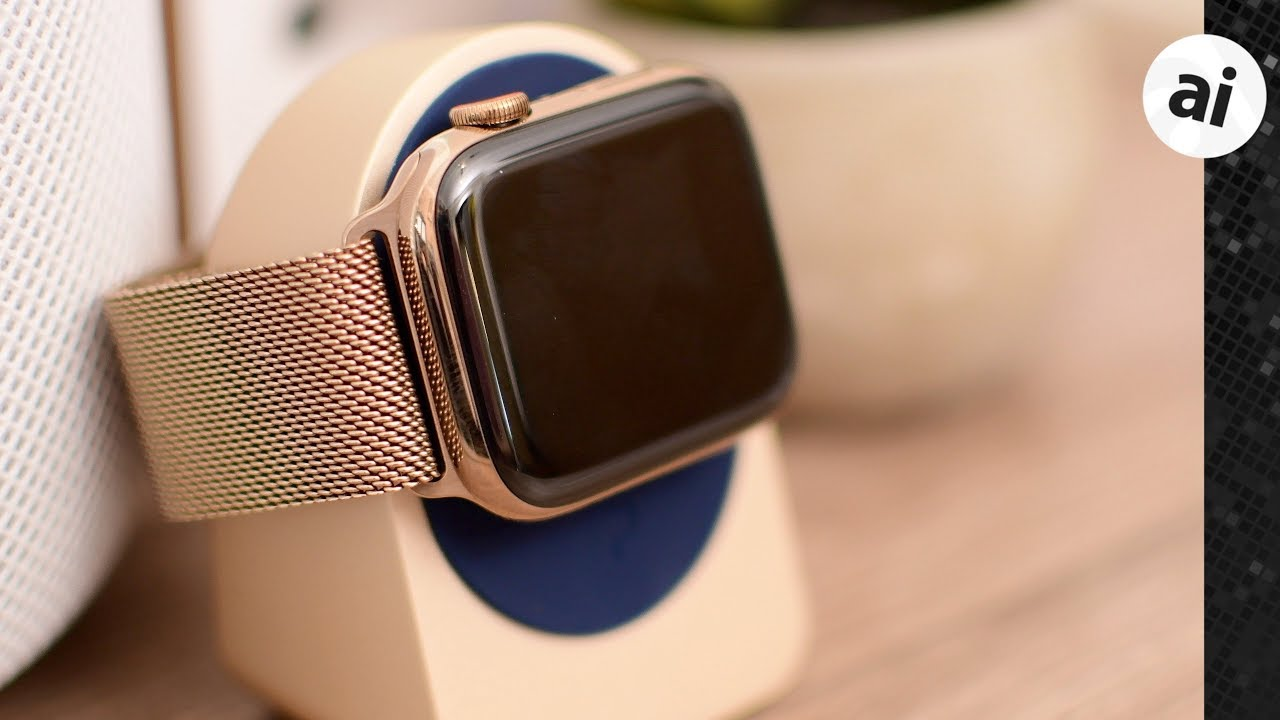 Review Apple S Gold Milanese Loop Apple Watch Band Youtube