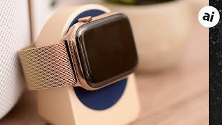 Review: Apple's Gold Milanese Loop Apple Watch Band