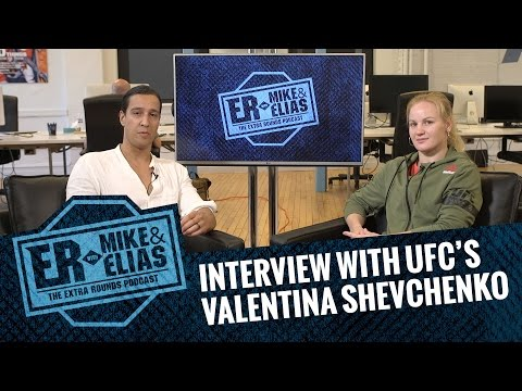 The Extra Rounds Podcast - Interview With Valentina Shevchenko