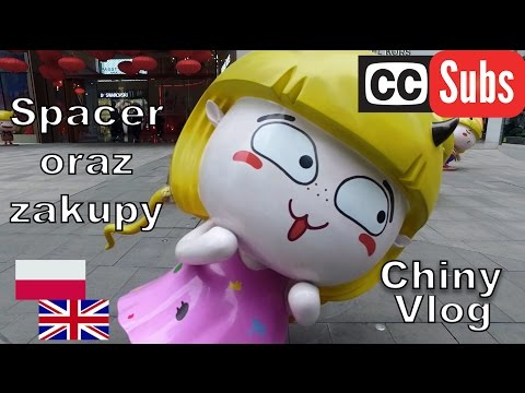 Chiński Carrefour, zwiedzanie miasta - Chongqing, Chiny #vlog [ENG - SUB]