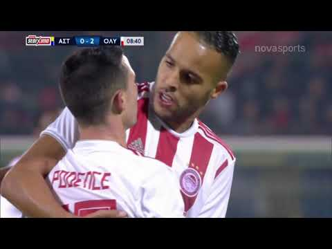 Asteras Tripolis Olympiakos Goals And Highlights