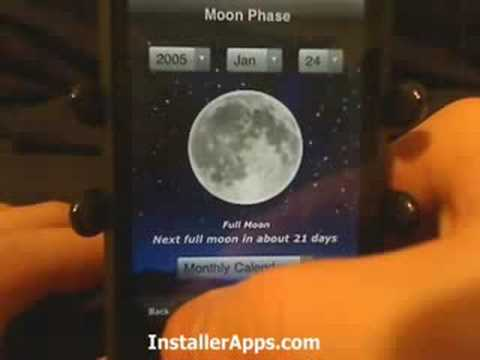 iPhone App - Moon Phase