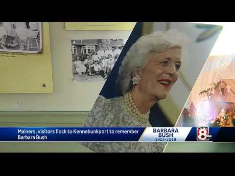 Kennebunkport mourns the loss of Barbara Bush