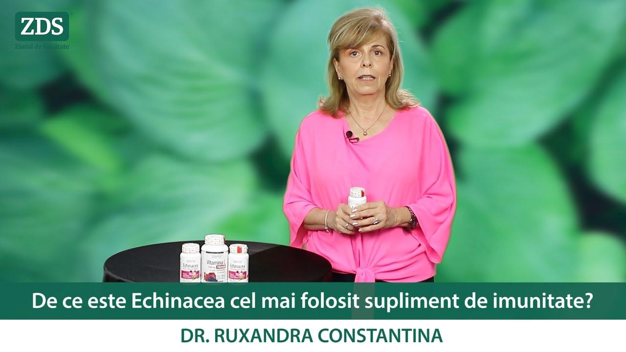 ECHINACEA: cel mai folosit remediu pentru creșterea imunității!